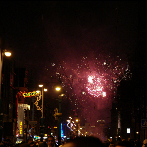 Amsterdam Fireworks - NYE